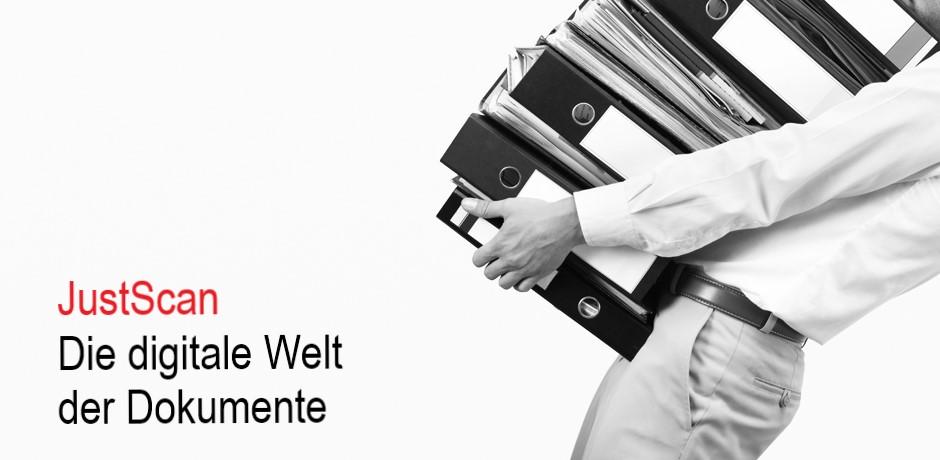 JustScan - Die digitale Welt der Dokumente.