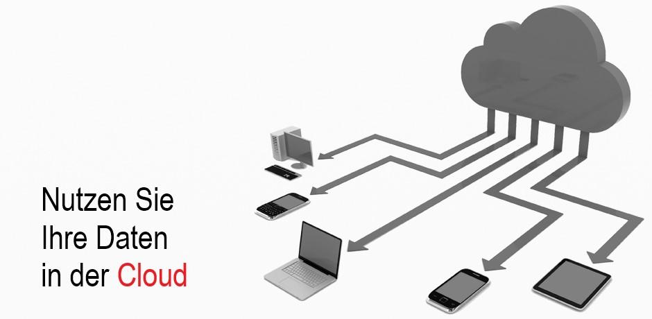 Nutzen Sie Ihre Daten in der Cloud.